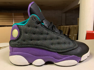 "Size 3Y Air Jordan 13 ""Black/Purple"""