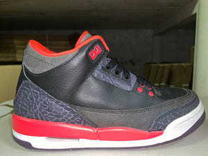 "Size 5Y Air Jordan 3 ""Crimson"""