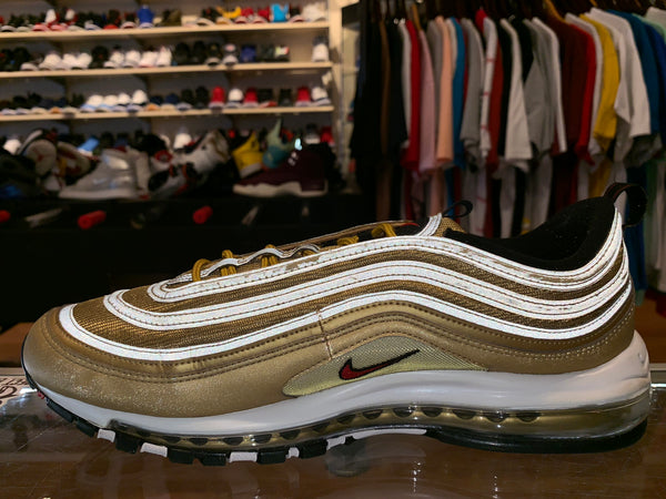 "Size 14 Nike Air Max 97 ""Metallic Gold"""