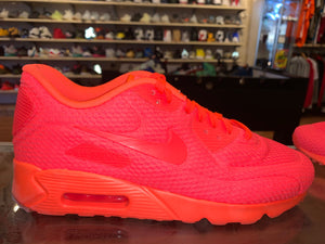 "Size 9.5 Air Max 90 Ultra ""Red"""