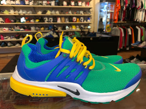 "Size 9 Air Presto ""Green/Blue/Yellow"""