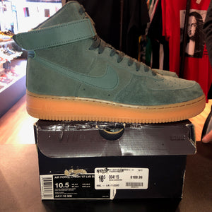 "Size 10.5 Air Force 1 High 07 ""Vintage Green"" Brand New"