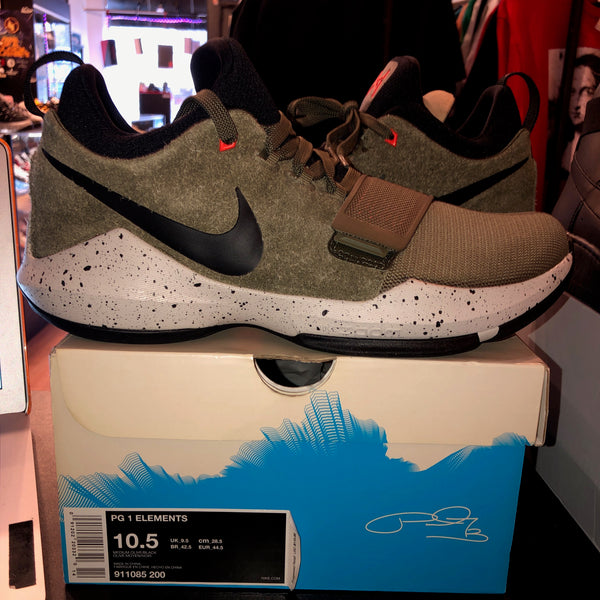 "Size 10.5 PG 1 Elements ""Olive"" Brand New"