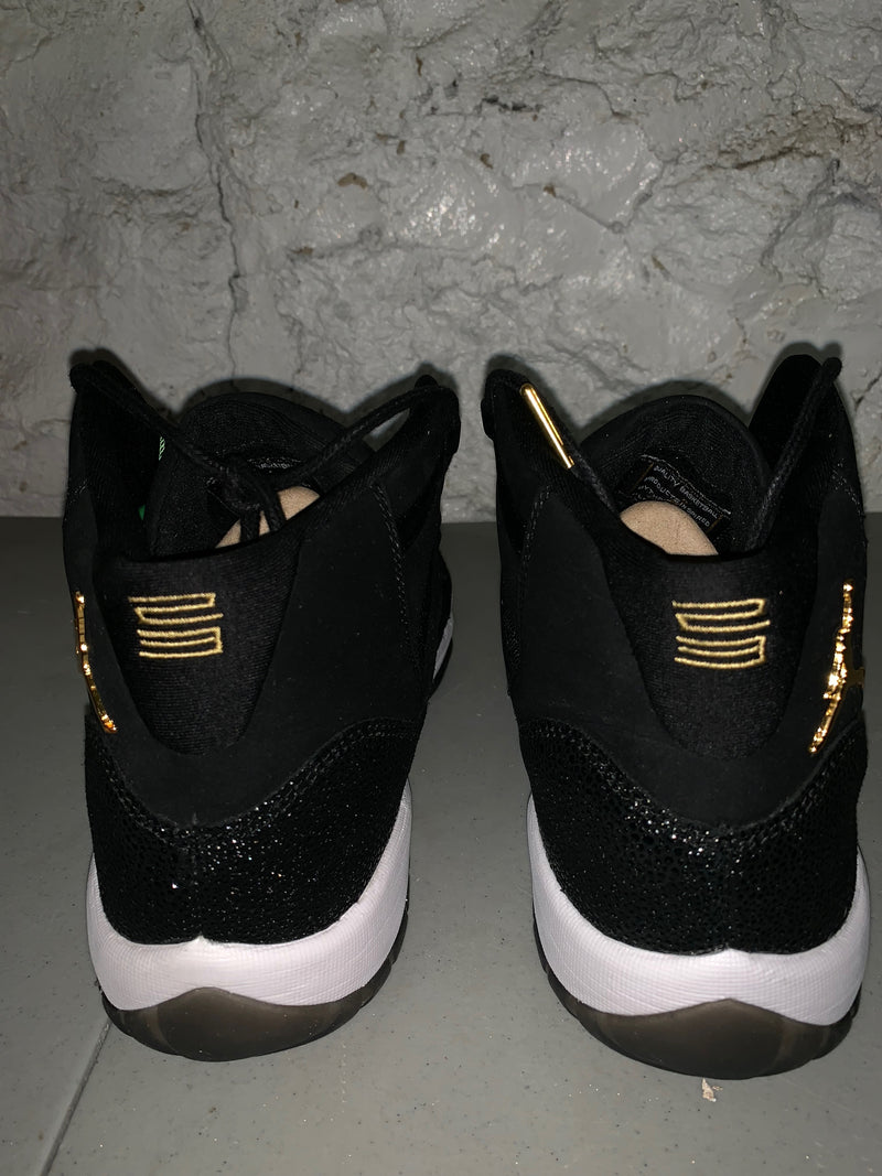"Size 10.5 Air Jordan 11 Heiress ""Black Stingray"" Brand New"