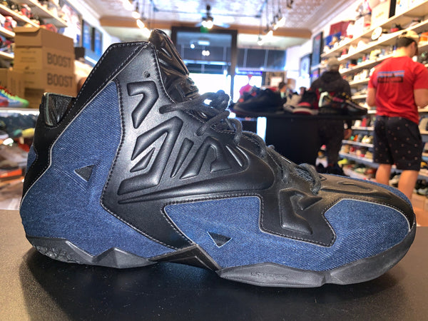 "Size 12 LeBron 11 EXT ""Denim"" Brand New"