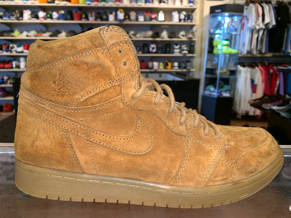 "Size 10.5 Air Jordan 1 ""Wheat"""