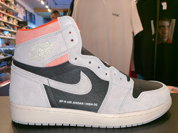 "Size 8.5 Air Jordan 1 ""Neutral Grey/Crimson"" Brand New"