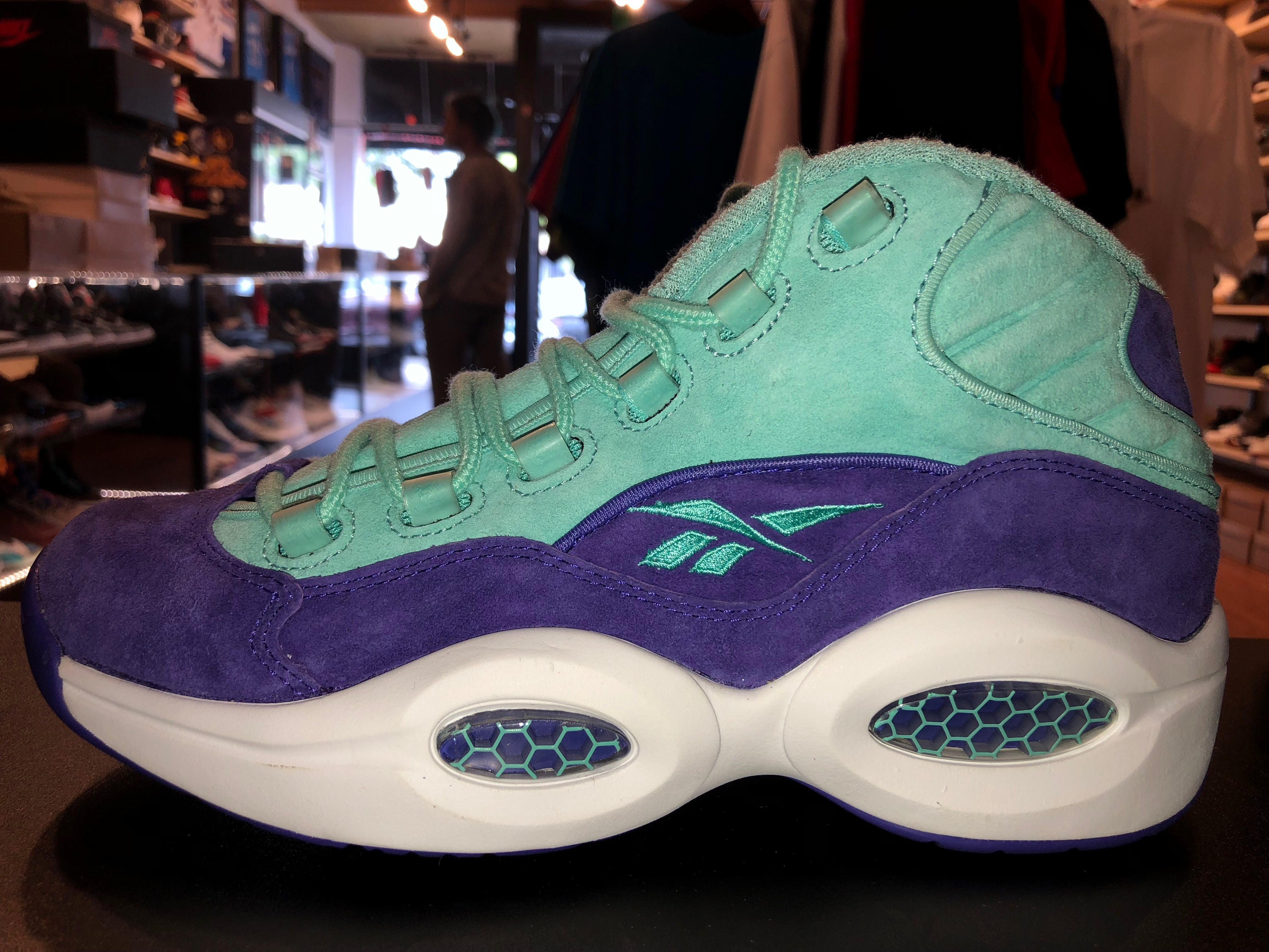 "Size 8.5 Reebok Question Mid x SNS x Packer ""Token 38"""