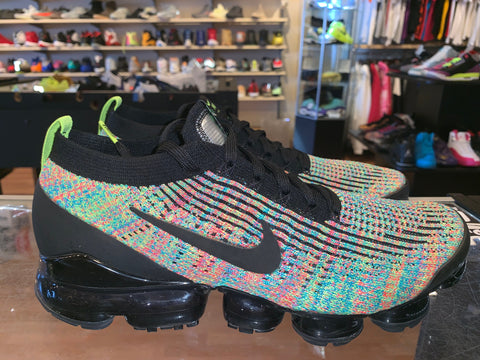"Size 10.5 Air Vapormax Flyknit 3 ""Multicolor"""