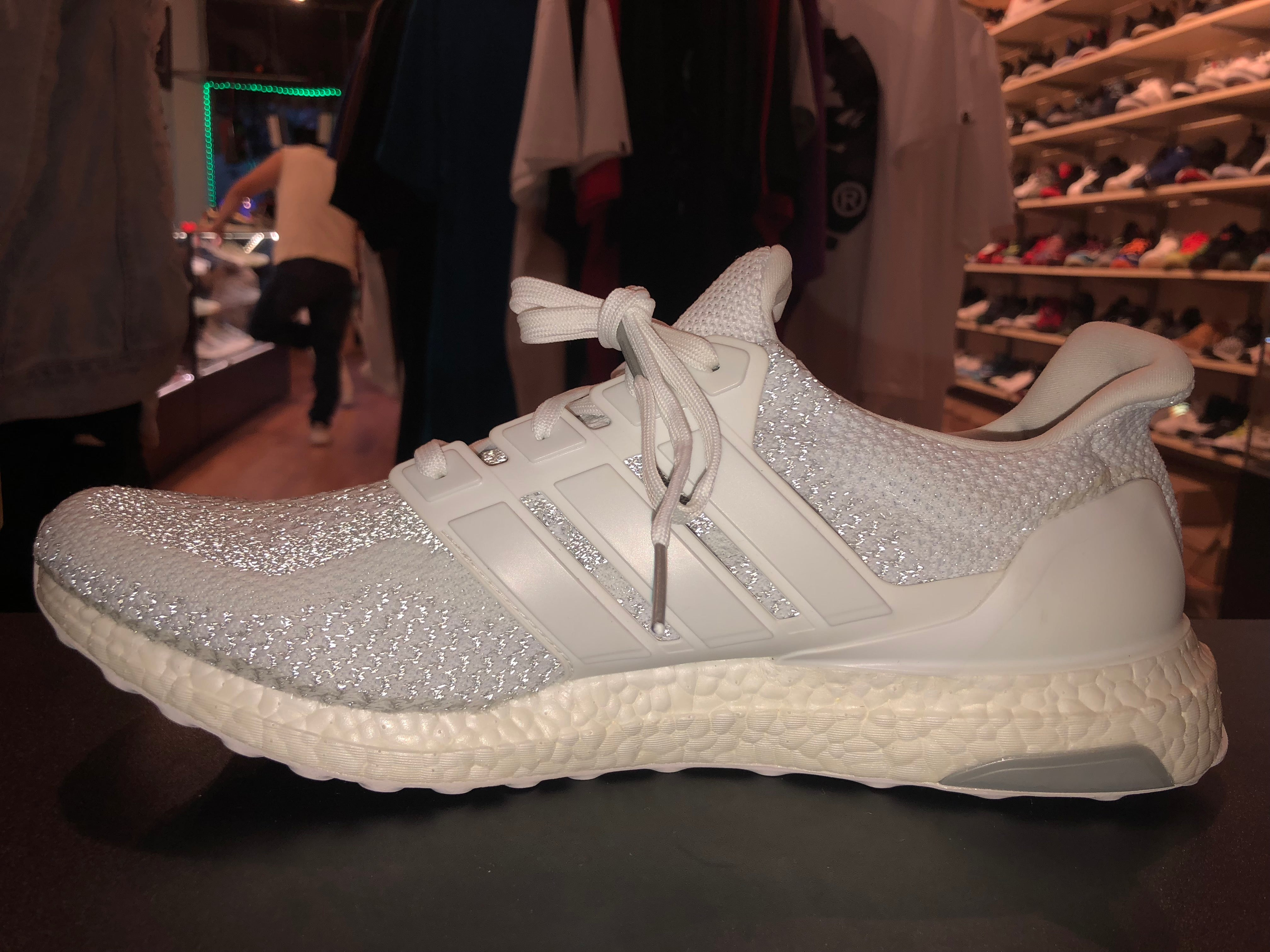 "Size 13 Adidas Ultra Boost 2.0 ""White Reflective"" Brand New"