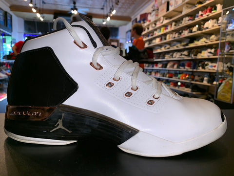 "Size 11.5 Air Jordan 17 ""Copper"""