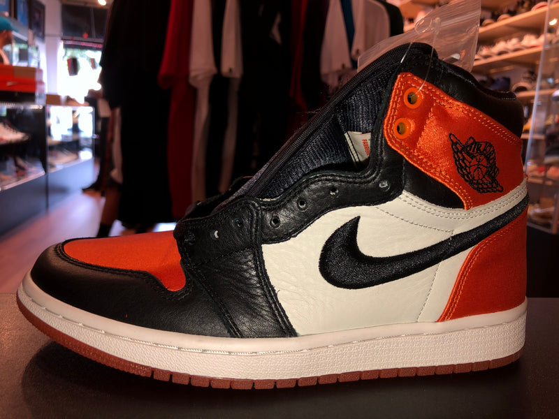 "Size 6.5W Air Jordan 1 ""Satin Shattered Backboard"" Brand New"