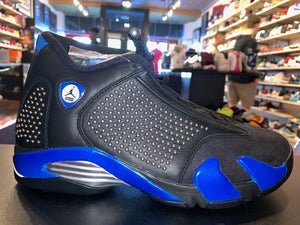 "Size 8 Air Jordan 14 Supreme ""Black/Blue"" Brand New"