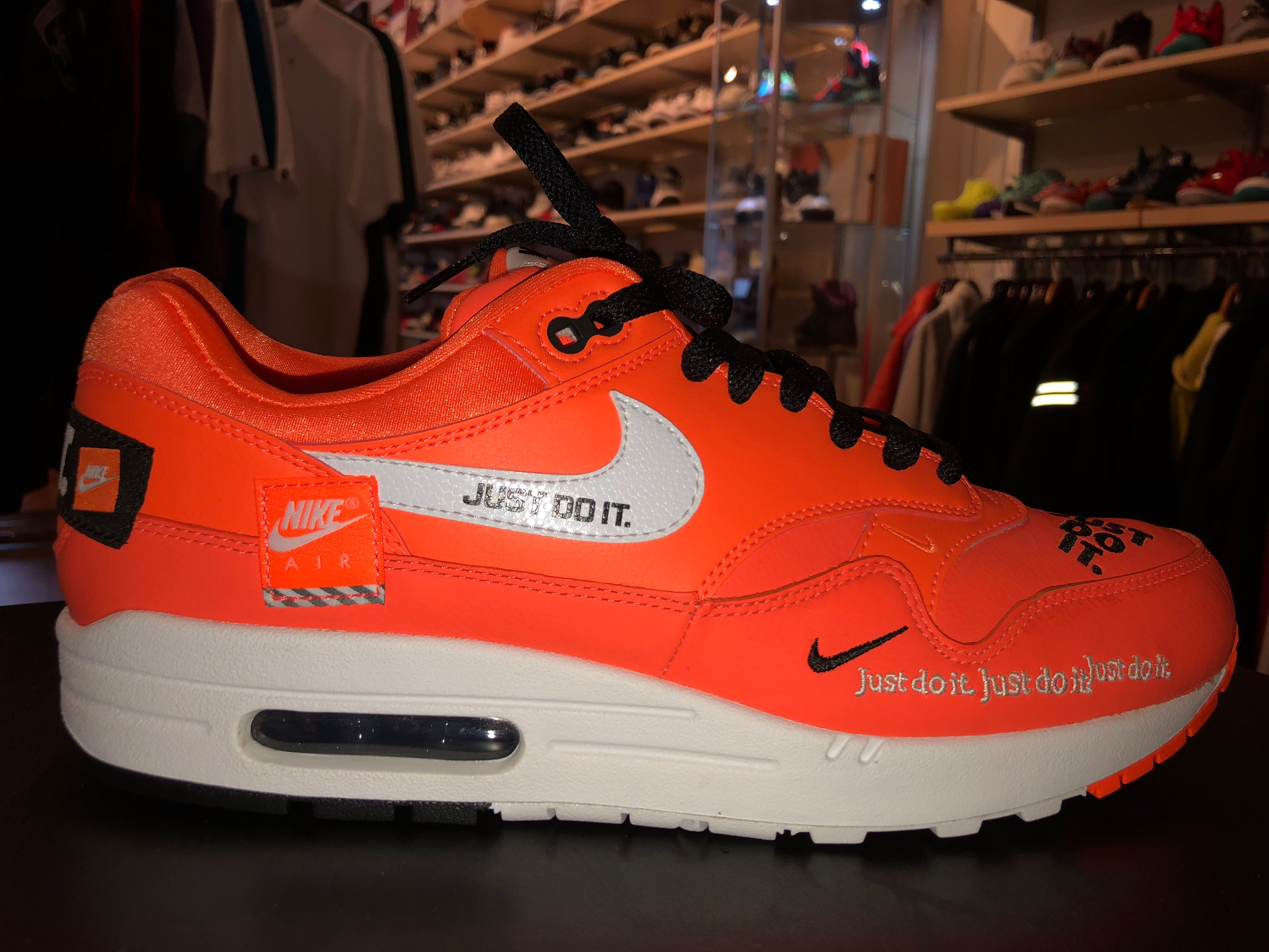 "Size 10.5 Air Max 1 Just Do It ""Orange"" Brand New"