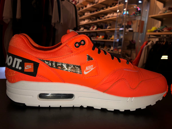 "Size 11 Air Max 1 Just Do It ""Orange"" Brand New"
