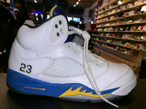 "Size 8.5 Air Jordan 5 ""Laney"""