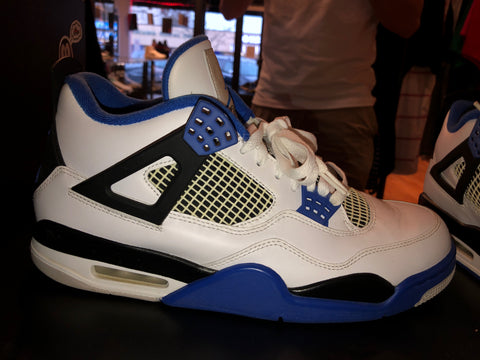 "Size 11 Air Jordan 4 ""Motorsport"""