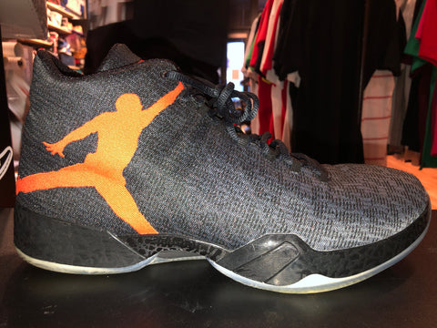 "Size 14 Air Jordan 29 ""Team Orange"""