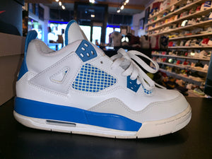 "Size 6.5Y Air Jordan 4 ""Military Blue"""