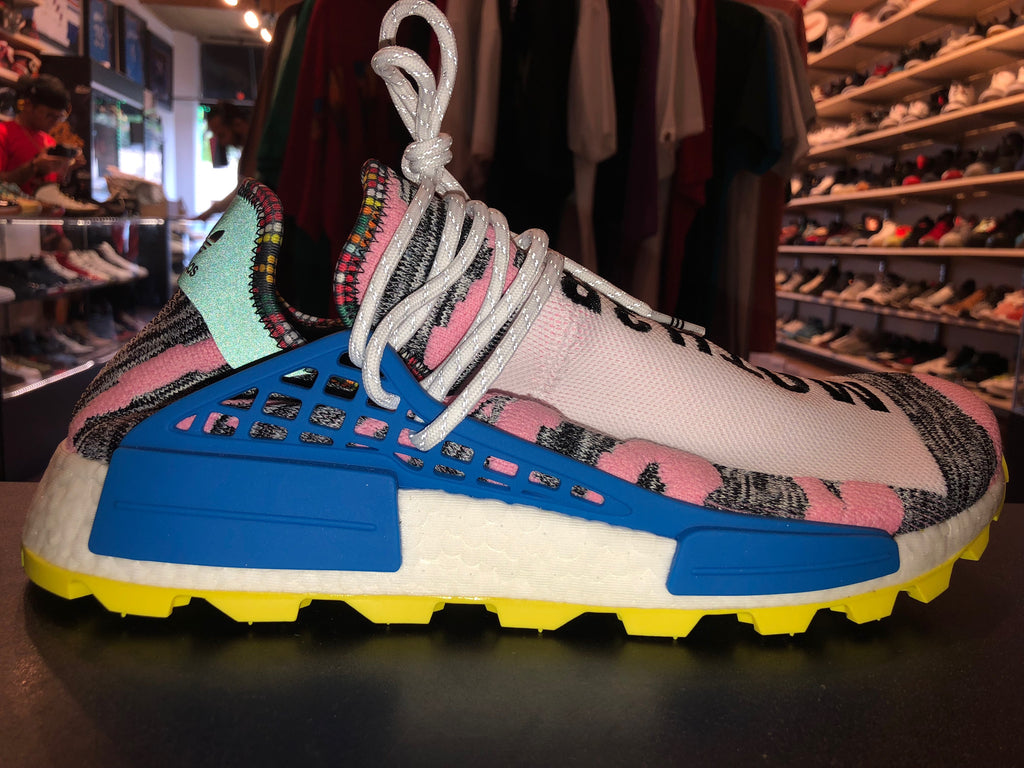 "Size 8 Adidas Pharrell x NMD Human Race ""Solar Pack"" Brand New"