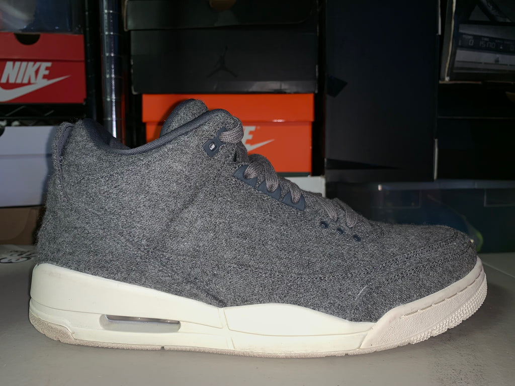 "Size 11.5 Air Jordan 3 ""Wool"""