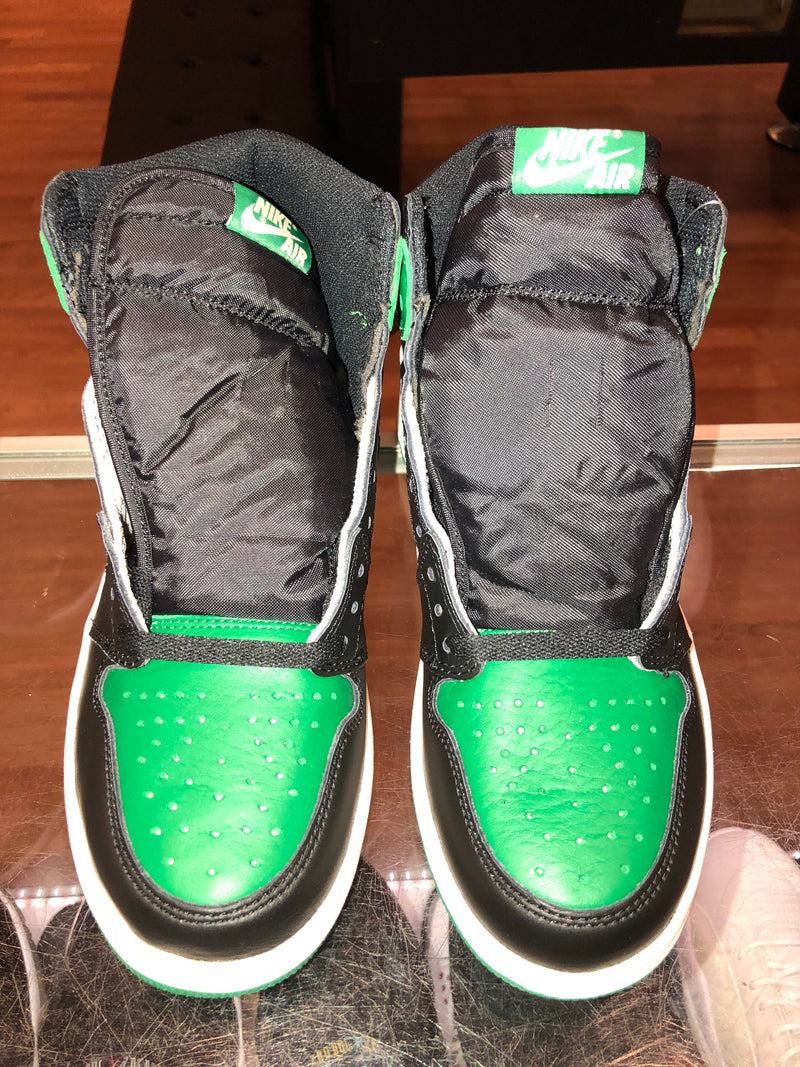 "Size 8 Air Jordan 1 ""Pine Green"" Brand New"