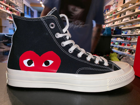 "Size 9 Converse High ""Comme Des Garcons"" Brand New"