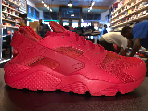 "Size 11 Air Huarache ""Triple Red"" Brand New"