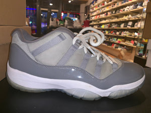 "Size 12 Air Jordan 11 Low ""Cool Grey"""