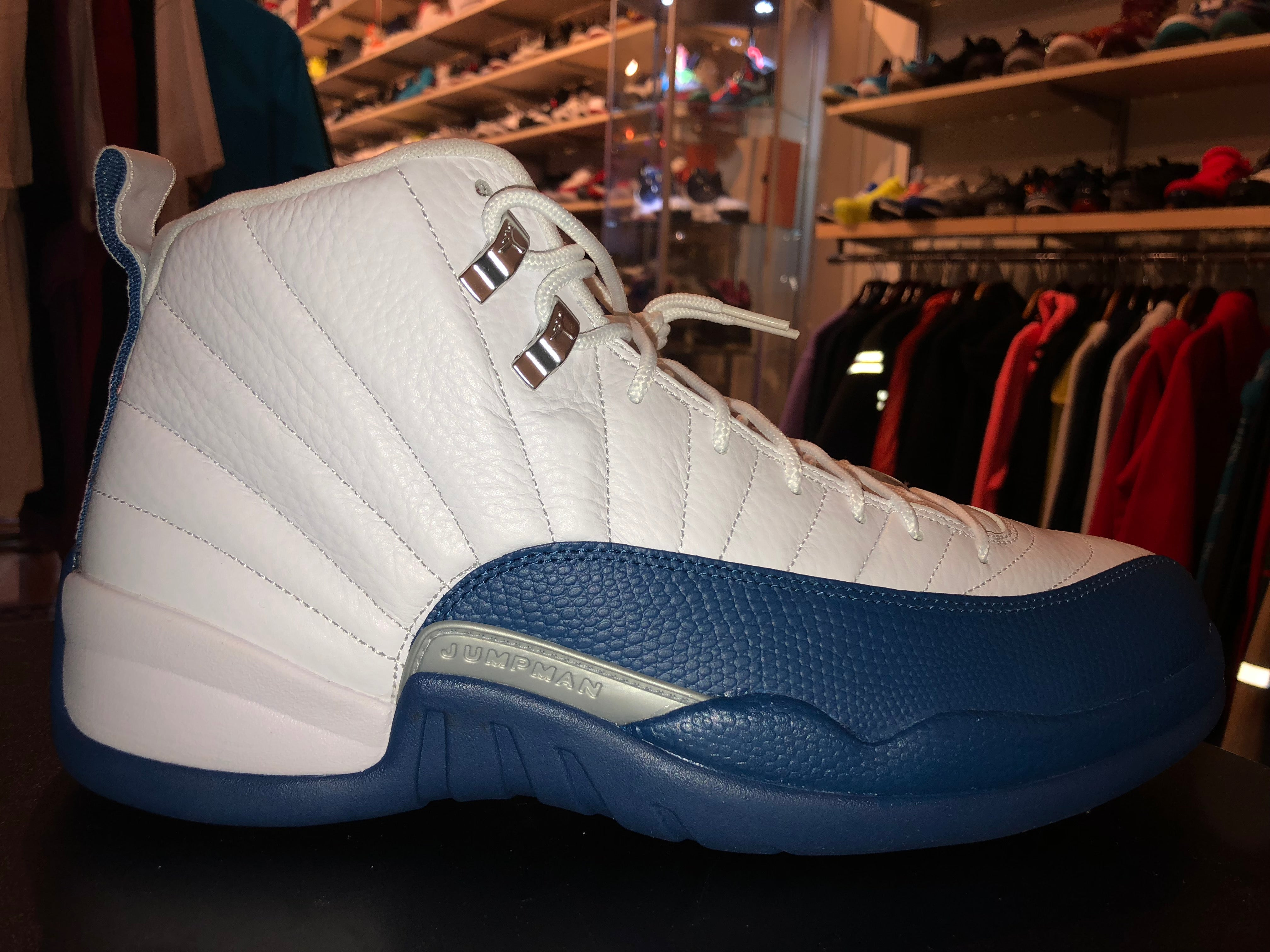 "Size 12 Air Jordan 12 ""French Blue"" Brand New"