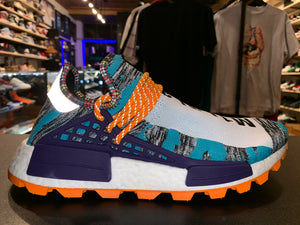 "Size 11 Pharrell Human Race Solar NMD ""Orange"" Brand New"
