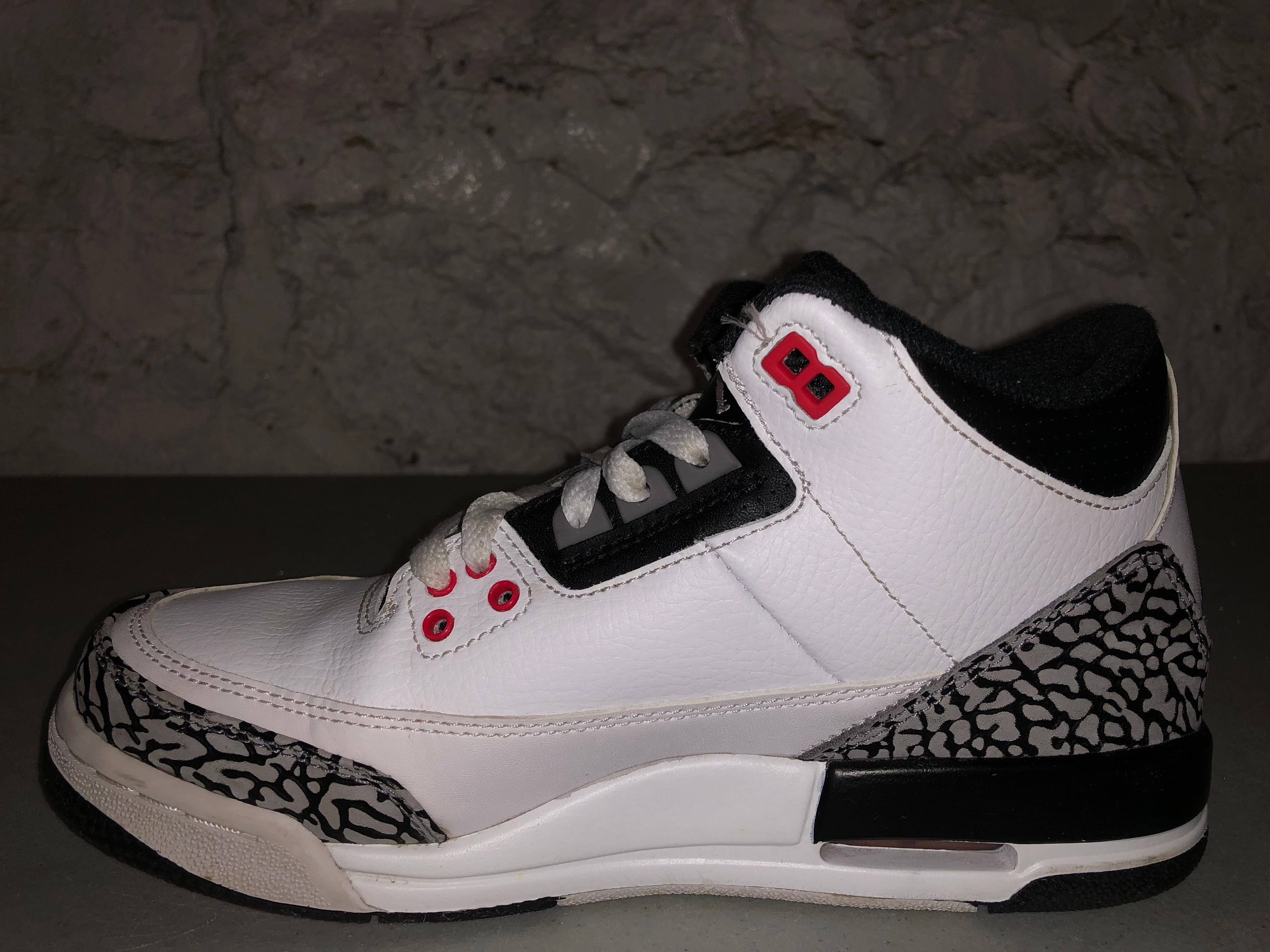 sports shoes 696e0 48b25 ... coupon code for size 5.5y air jordan 3 infrared d7529 f2449
