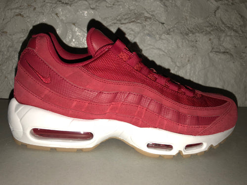 "Size 9.5 Air Max 95 ""Team Red"" Brand New"