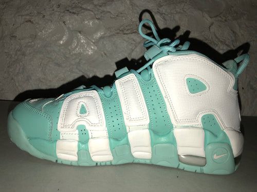 "Size 7Y Air More Uptempo ""Island Green"""