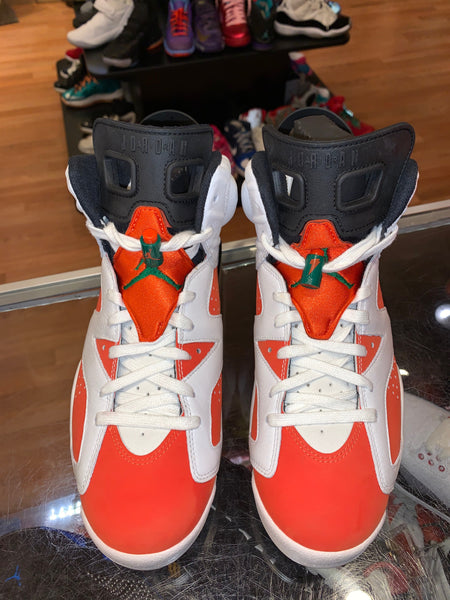 "Size 9 Air Jordan 6 ""Gatorade"""
