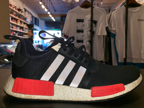 "Size 11 NMD R1 ""Black/ Red"""