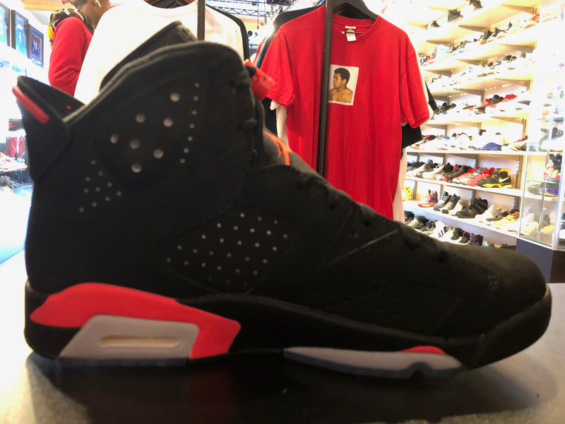 "Size 9.5 Air Jordan 6 ""Infrared"" Brand New"