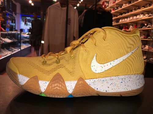 "Size 9 Kyrie 4 ""Cinnamon Toast Crunch"" Brand New"