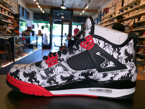 "Size 10 Air Jordan 4 ""Tattoo"" Brand New"