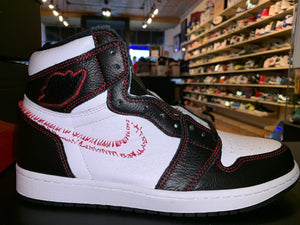 "Size 9.5 Air Jordan 1 Defiant ""White/Gym Red"" Brand New"