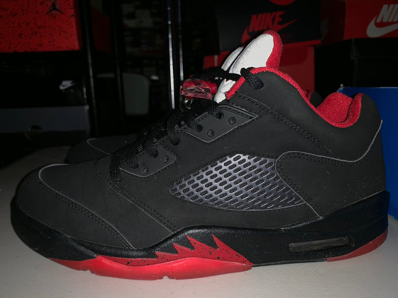 "Size 10.5 Air Jordan 5 Low ""Alternate"""