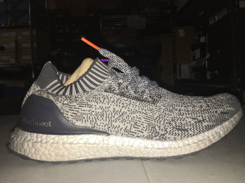 "Size 8.5 Adidas Uncaged Ultra Boosts ""Sliver"""