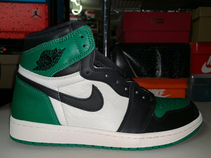 "Size 10.5 Air Jordan 1 ""Pine Green"" Brand New"