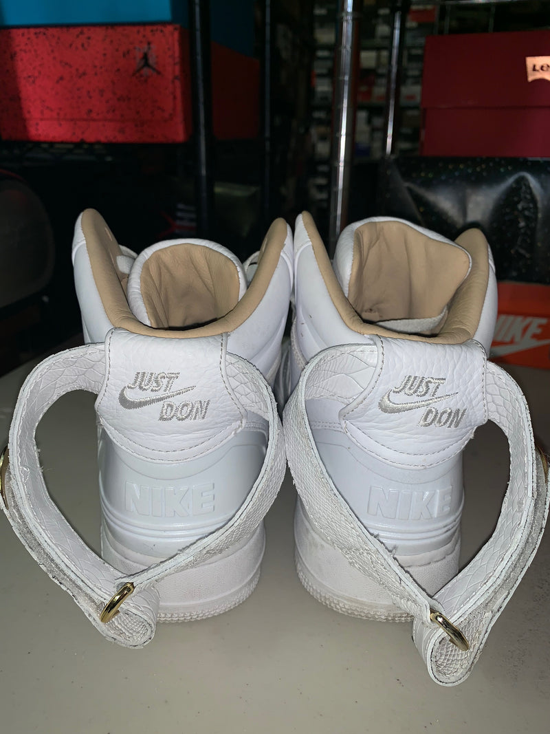 "Size 9.5 Air Force 1 High ""Just Don"""