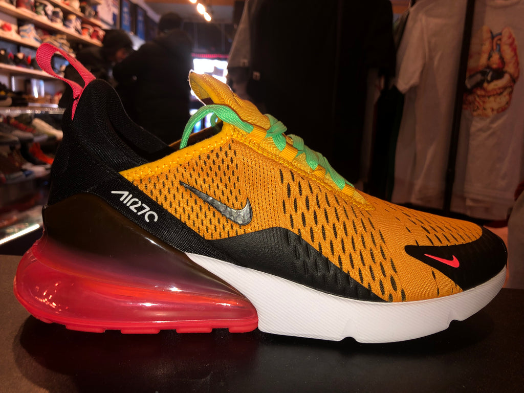 "Size 10 Air Max 270 ""University Gold"""