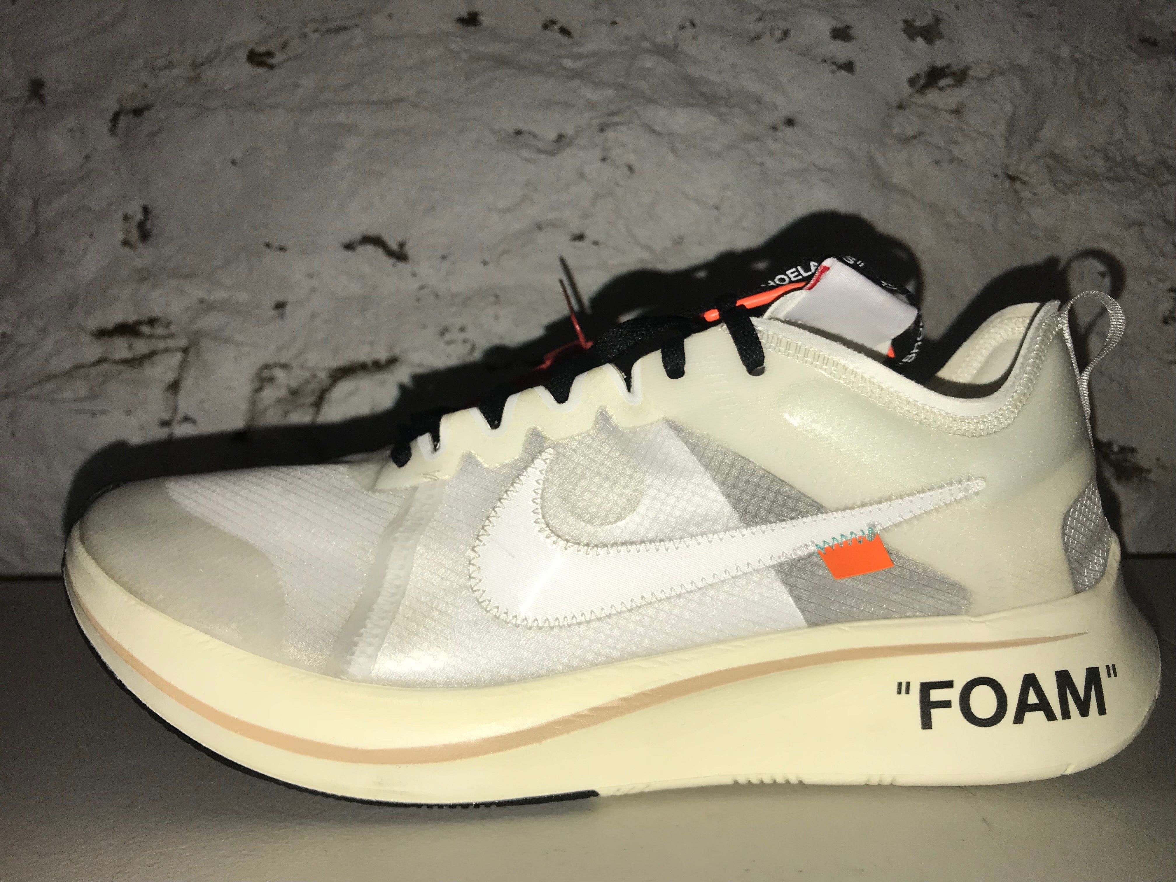 "Size 13 Nike Zoom Fly ""Off White"""