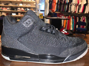 "Size 11 Air Jordan 3 ""Flyknit Black"""