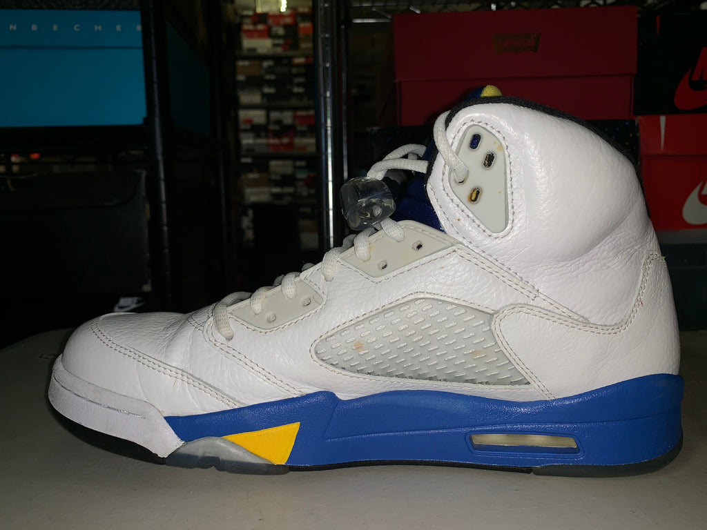 "Size 10 Air Jordan 5 ""Laney"""