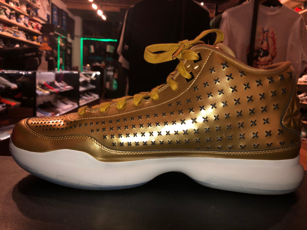 "Size 14 Kobe 10 Mid Ext ""Liquid Gold"""