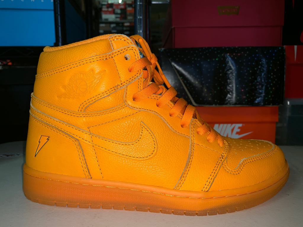 "Size 8.5 Air Jordan 1 ""Gatorade Orange"""